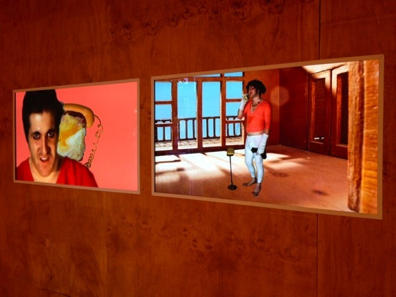 Heath Franco, DREAM HOME (installation view), 2012. Dual-Channel High Definition Digital Video, Colour, Stereo Sound, 16:9, 10 minutes 45 seconds