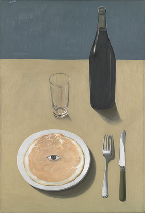 René Magritte. Le Portrait (The Portrait). 1935. Oil on canvas, 28 7/8 x 19 7/8″ (73.3 x 50.2 cm). The Museum of Modern Art. Gift of Kay Sage Tanguy © Charly Herscovici – ADAGP – ARS, 2013
