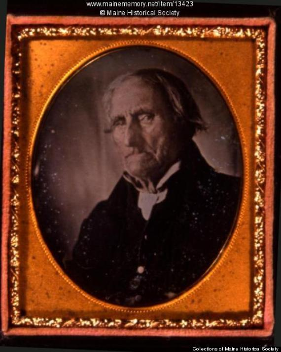 Conrad Heyer, Waldoboro, ca. 1852 Daguerreotype, leather case 9 x 7 cm Image: Collections of Maine Historical Society