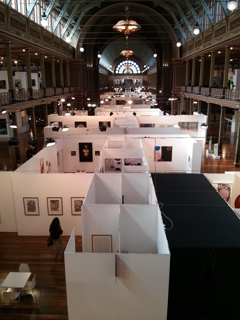 Melbourne Art Fair 2014. Photograph: Chloé Wolifson