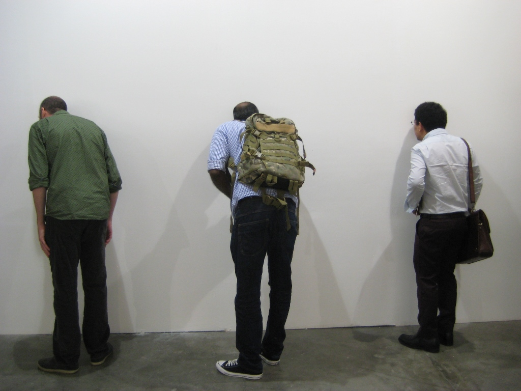 Visitors at Art Stage Singapore, 2015. Photograph: Chloé Wolifson
