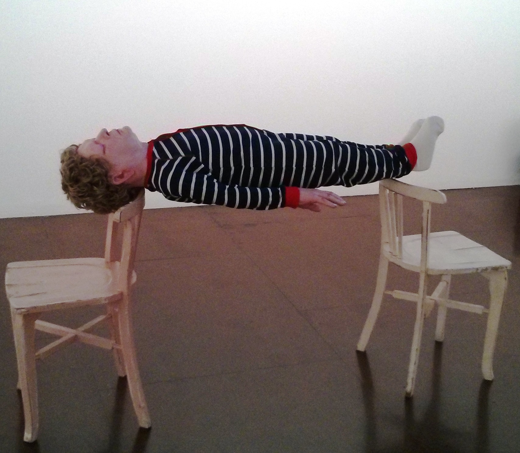 Ronnie van Hout, 'Dave' 2014, installation view, Darren Knight Gallery, Sydney. Photograph: Chloé Wolifson